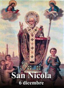 San Nicola. Immagine di San Nicola e i miracoli